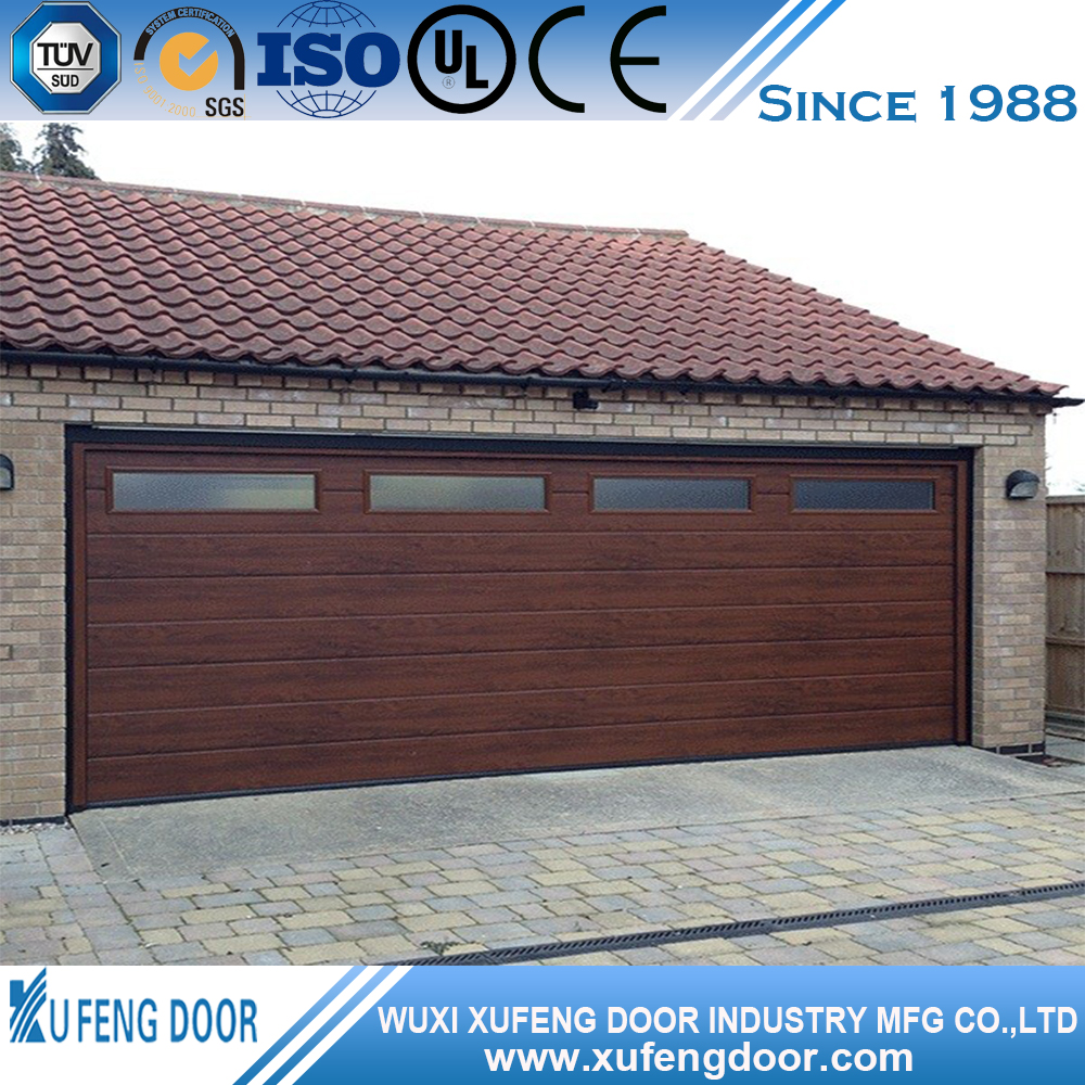 Good Price Wooden Colour Garage Doors