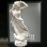 Modern Decoration female nude marble sculpture