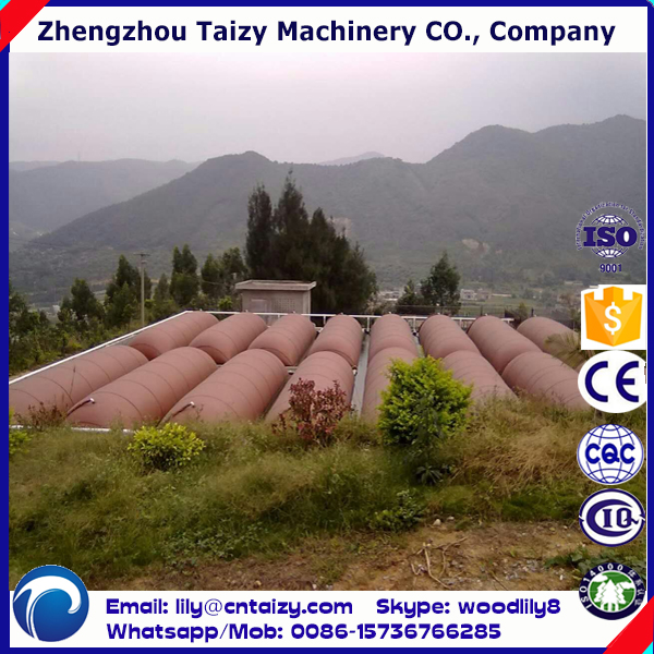 China Biogas Plant Farm Poultry Dung Stalk <strong>Waste</strong> Recycle Plant Biogas Digester Design