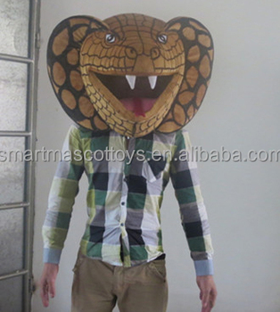 Plush big head animal costumes snake head mascot costume & Plush Big Head Animal Costumes Snake Head Mascot Costume - Buy Snake ...