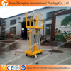 10M Single mast hydraulic aluminum ladder portable electric lift manufacture