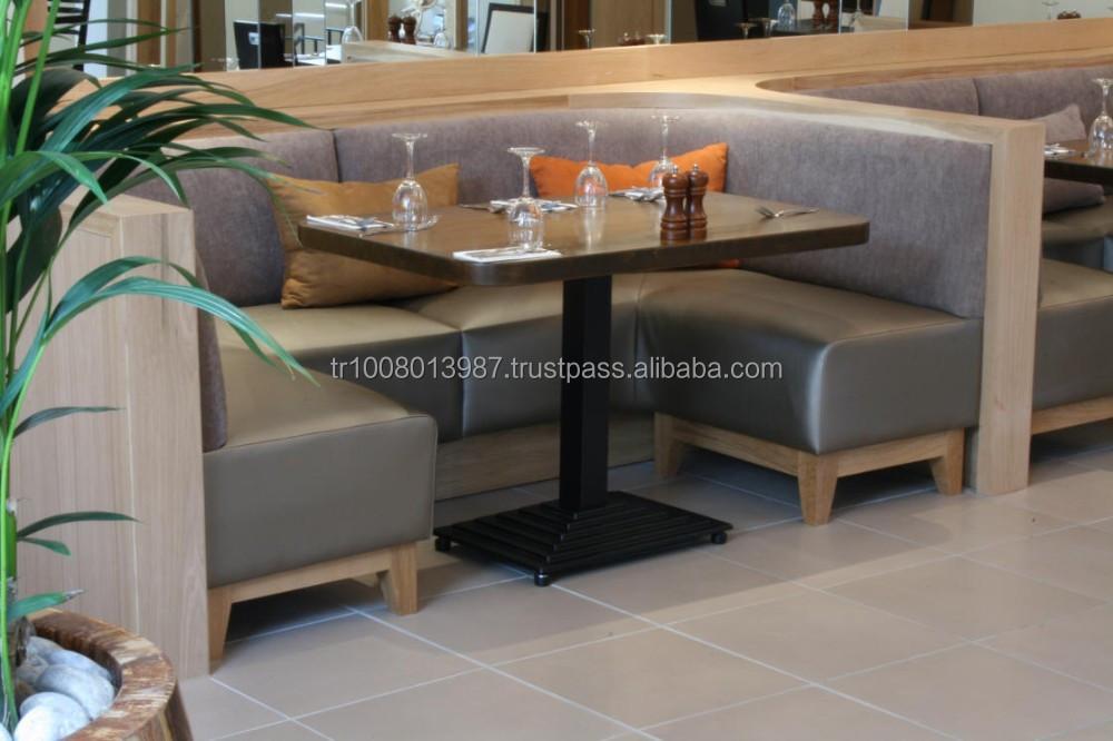 moderne fastfood restaurant banquet seatings sofa und. Black Bedroom Furniture Sets. Home Design Ideas