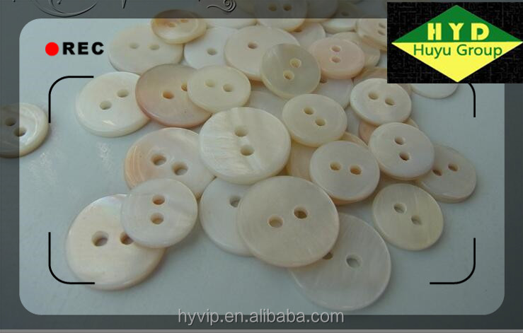 HYD Wholesale ivory shell buttons