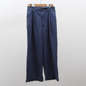 High waisted 100% cotton washed straight wide leg ladies Nine points pants trousers