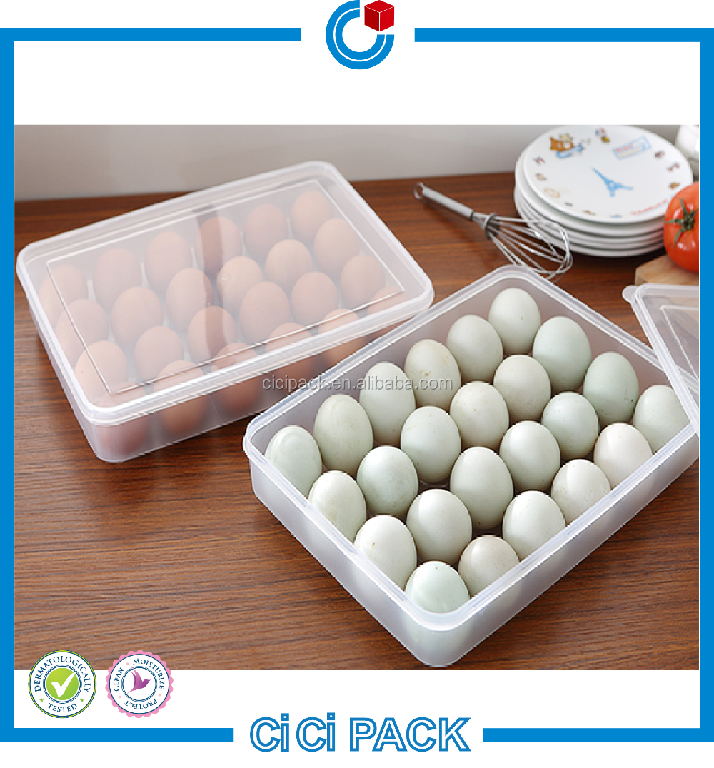 Customized popular pet / pvc disposable plastic egg shape container