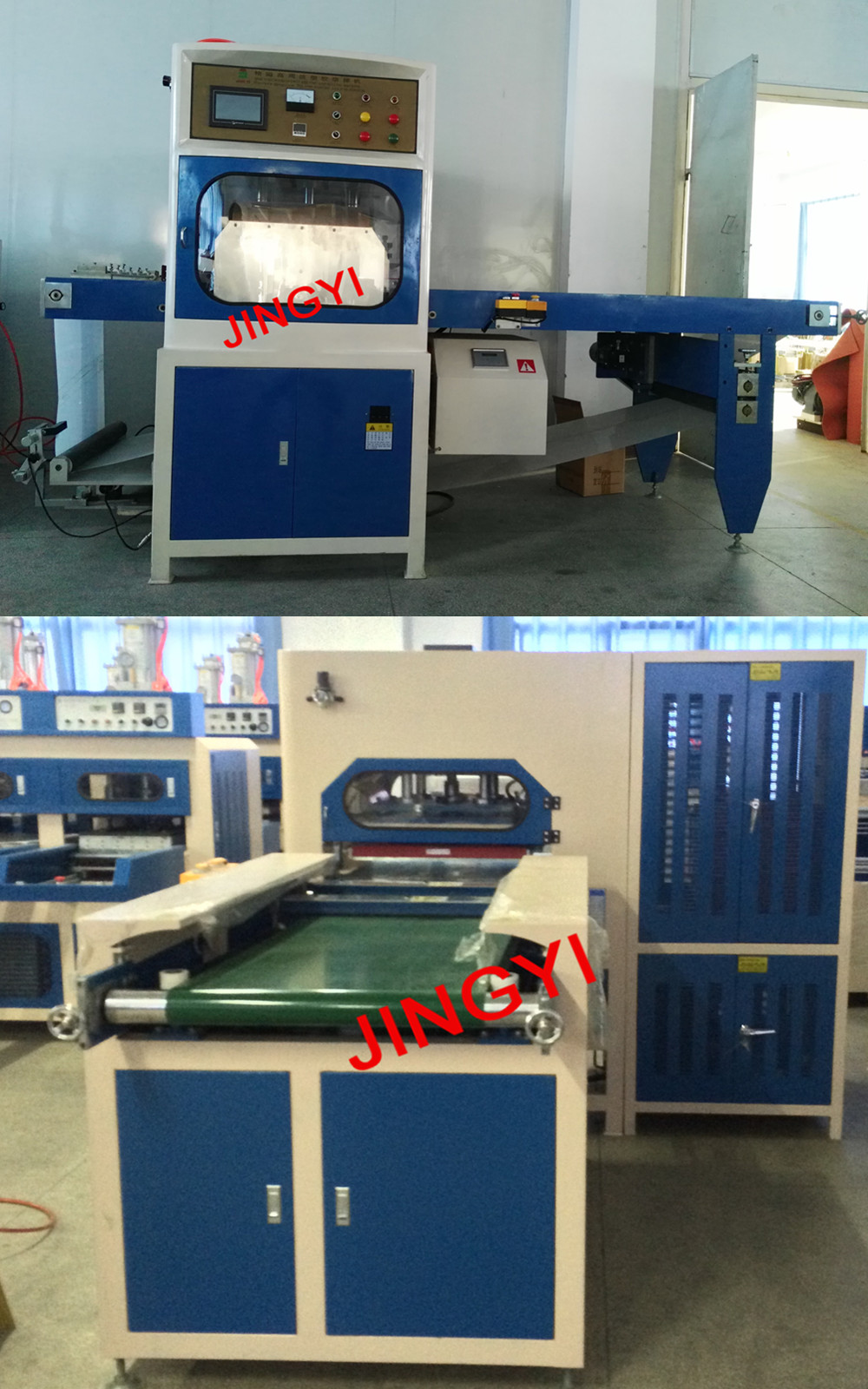 Big Power High Quality High Frequency Welding Machine (JY15000H-PLC)