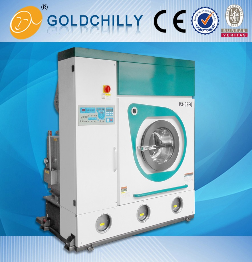 Professional automated laundry and dry cleaning machinery