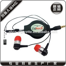 Cheap price stereo earbuds earphone cable reel for earphone