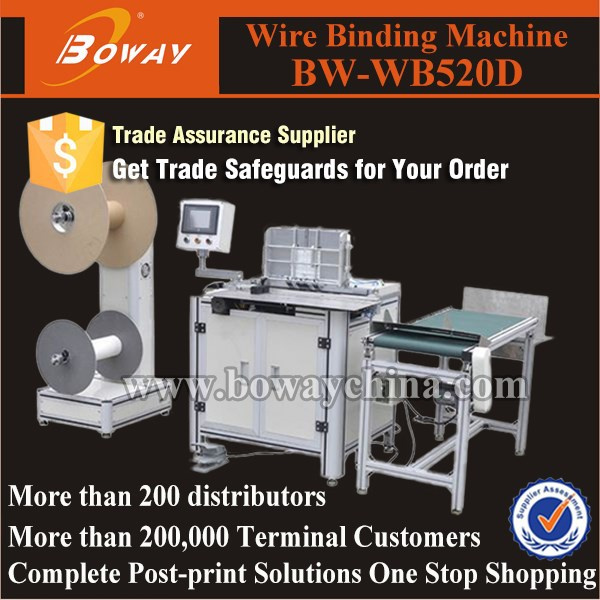 Boway supply WB520D Double Wire forming Binding Machine