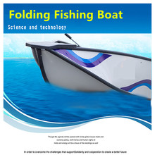 5 Persons Outdoor Fishing Tackle Vessel For Sale Folding Portable Fishing Boat