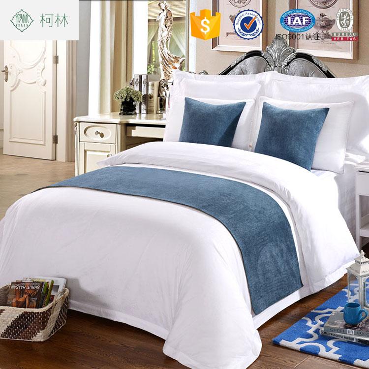 Runner Per Letto Matrimoniale.Set Di Biancheria Da Letto Decorativa Bed Runner Per Hotel Buy