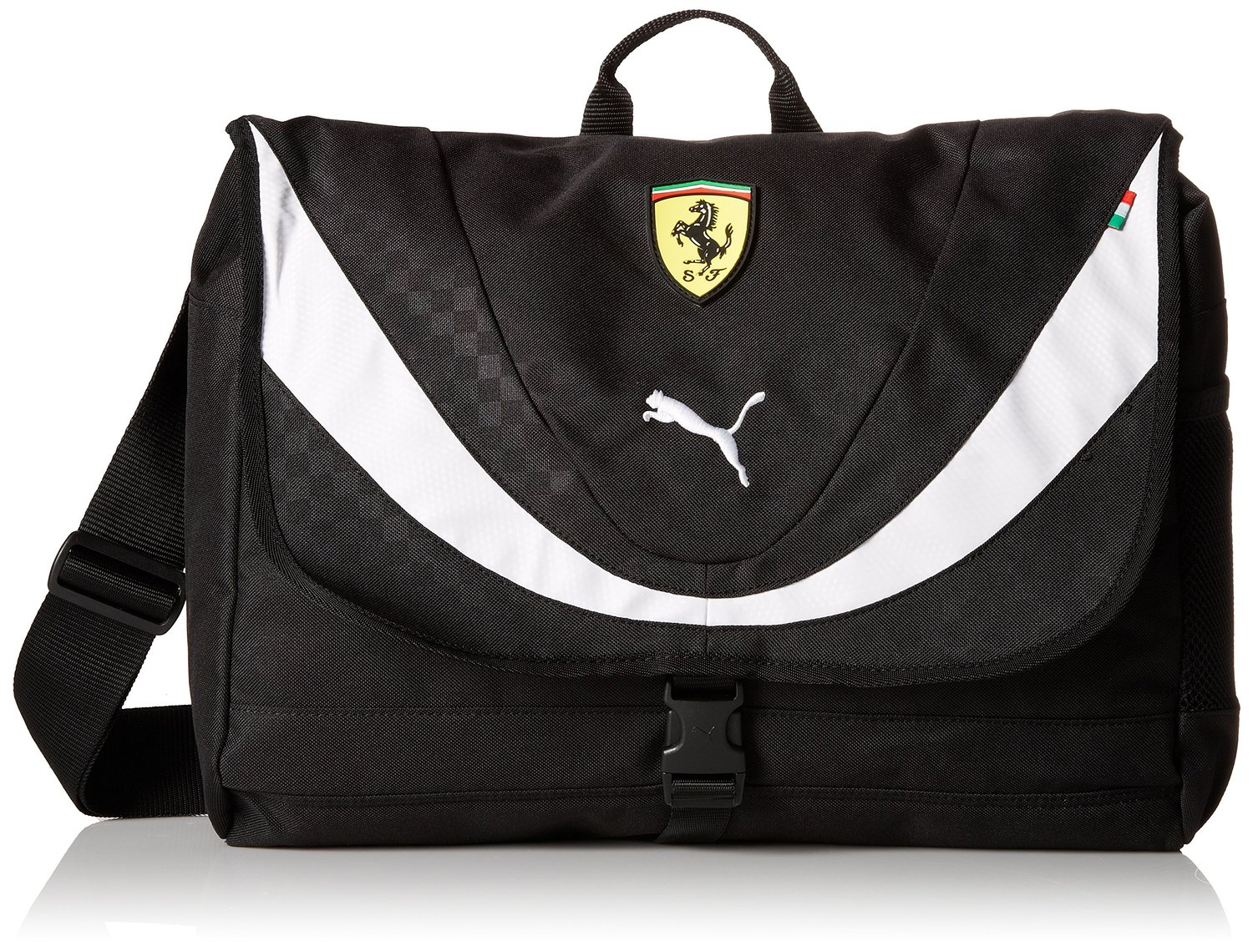 4a293f6acd67 Get Quotations · PUMA Men s Ferrari Replica Shoulder Bag