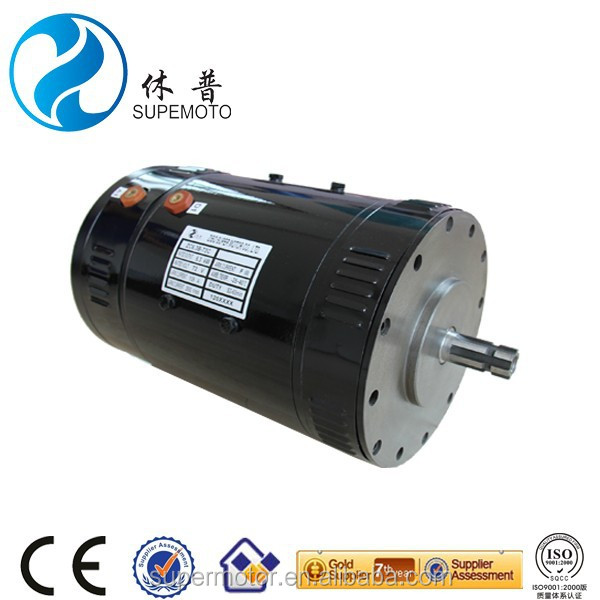 DC Motor 10kw 96v used for sightseeing bus or forktruck carrier bus