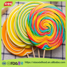 HALAL welcome candy lollipops round candy