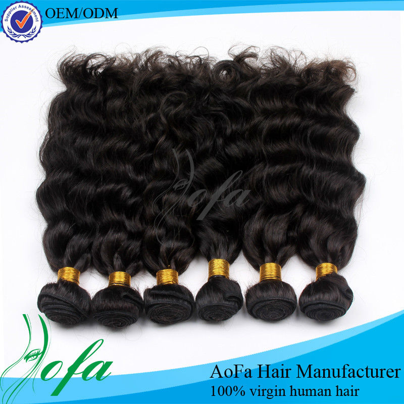 Top selling unprocessed indian remy jerry curl hair weave