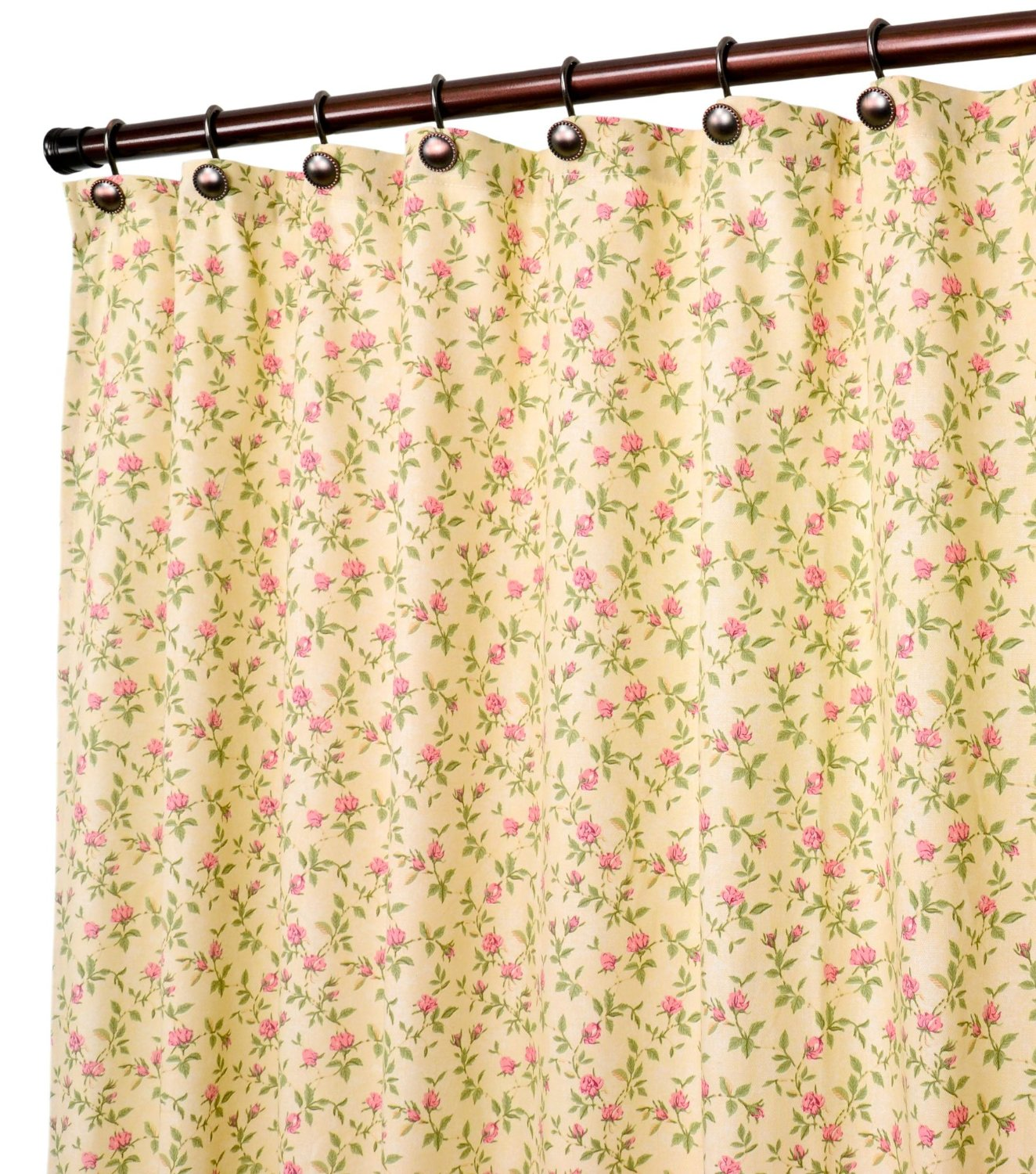 Get Quotations Ellis Curtain Marcia Floral Vine Print Shower 70 By 72 Inch Green