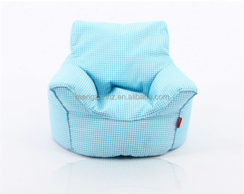 New Colorful Cotton Fabric Reading Kids Fancy Bean Bag Chair Personalized Bags