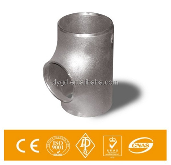 Steel forging 45 degree y branch pipe fitting lateral tee