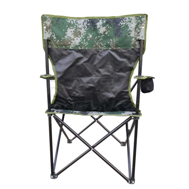 Oxford Cloth Lightweight Folding Beach Chair For Camping With Armrest Buy H