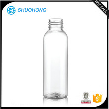 Personal Care Industrial Use round shaped Spray Plastic PET bottle 100ml