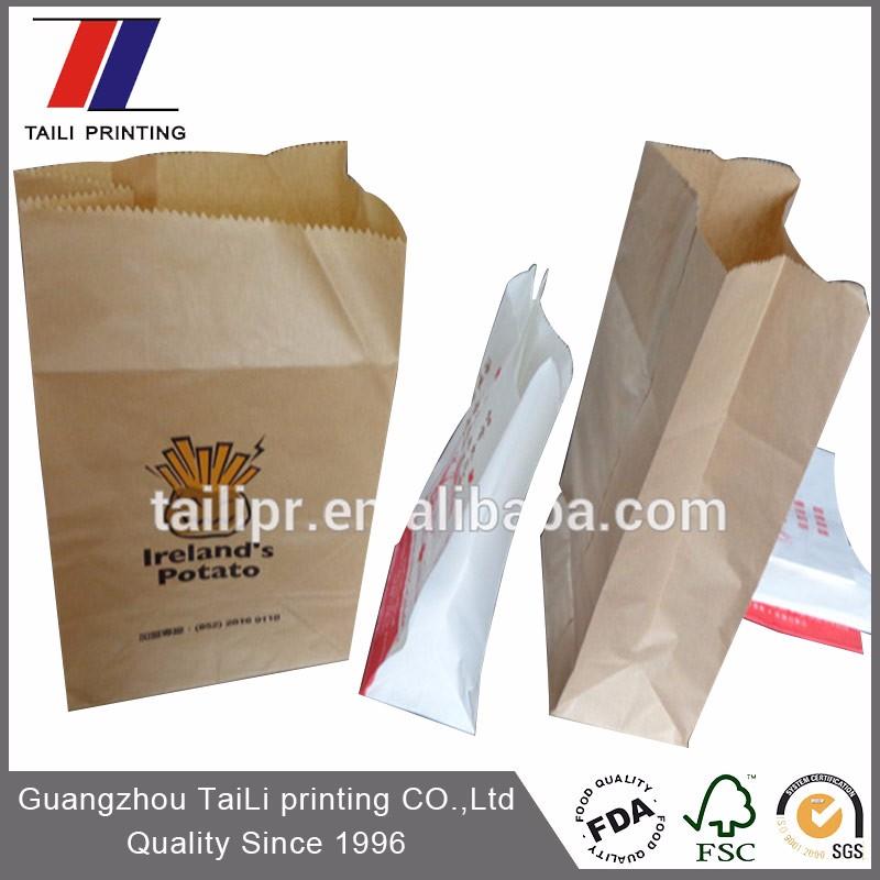 Food Grade Machine Making Paper Bag For Kraft Bags Brown Product On