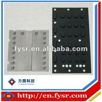High Quality Customized silicon rubber keypad with carbon pills
