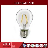 Hight Brightness E27 led bulb lamps 4w led bulb lights AC 230V warm/cold white led filament bulb