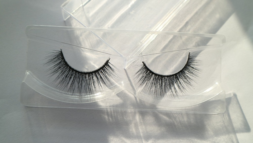 wholesale premium faux mink Korea fiber material silk eyelash 3D synthetic eyelashes