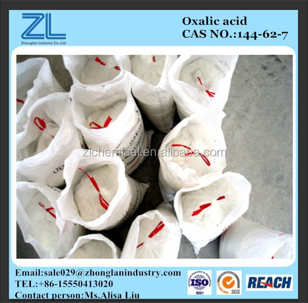 Oxalic acid effective in removing rust and ink stains