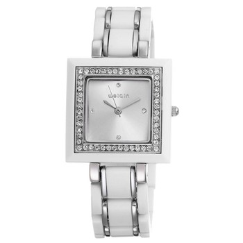 high quality japanese movt white ceramic watch for men