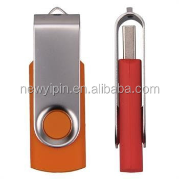 2g4g8g16g32g64g128g Premium Metal Swivel USB FlashDrive with custom logos
