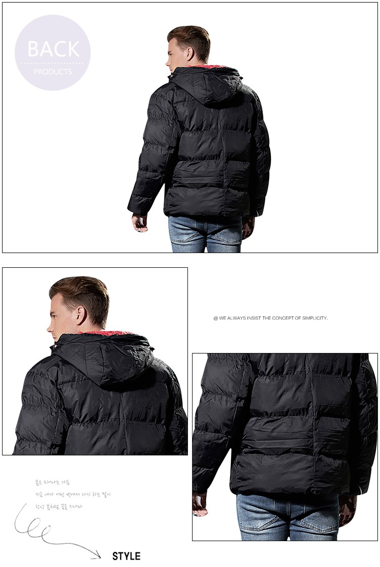 Mens jacket material