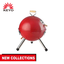 12 pollici Outdoor Piccolo di Football Americano A Forma di Casco In Acciaio Inox Carbone di Legna BARBECUE Grill Mini Rotonda di Calcio BBQ Barbecue Griglie