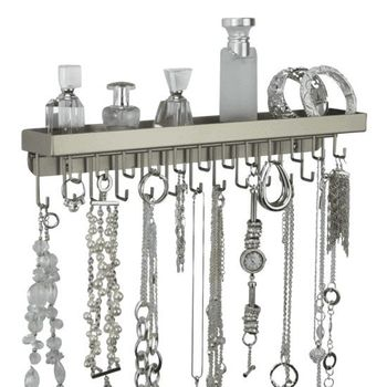 Wall Mount Necklace Holder Organizer Jewelry Display Schelon
