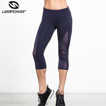 Slim Fit Yoga Pants Girl Spandex Yoga Capri Pants In Bodybuilding ...