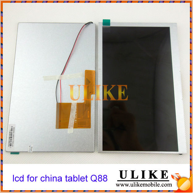 Q88 Tablet PC LCD Display Screen for China Tablet 7 Inch replacment LCD Universal