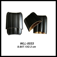 PU Leather Any Color 3 Finger Leather Cigar Case