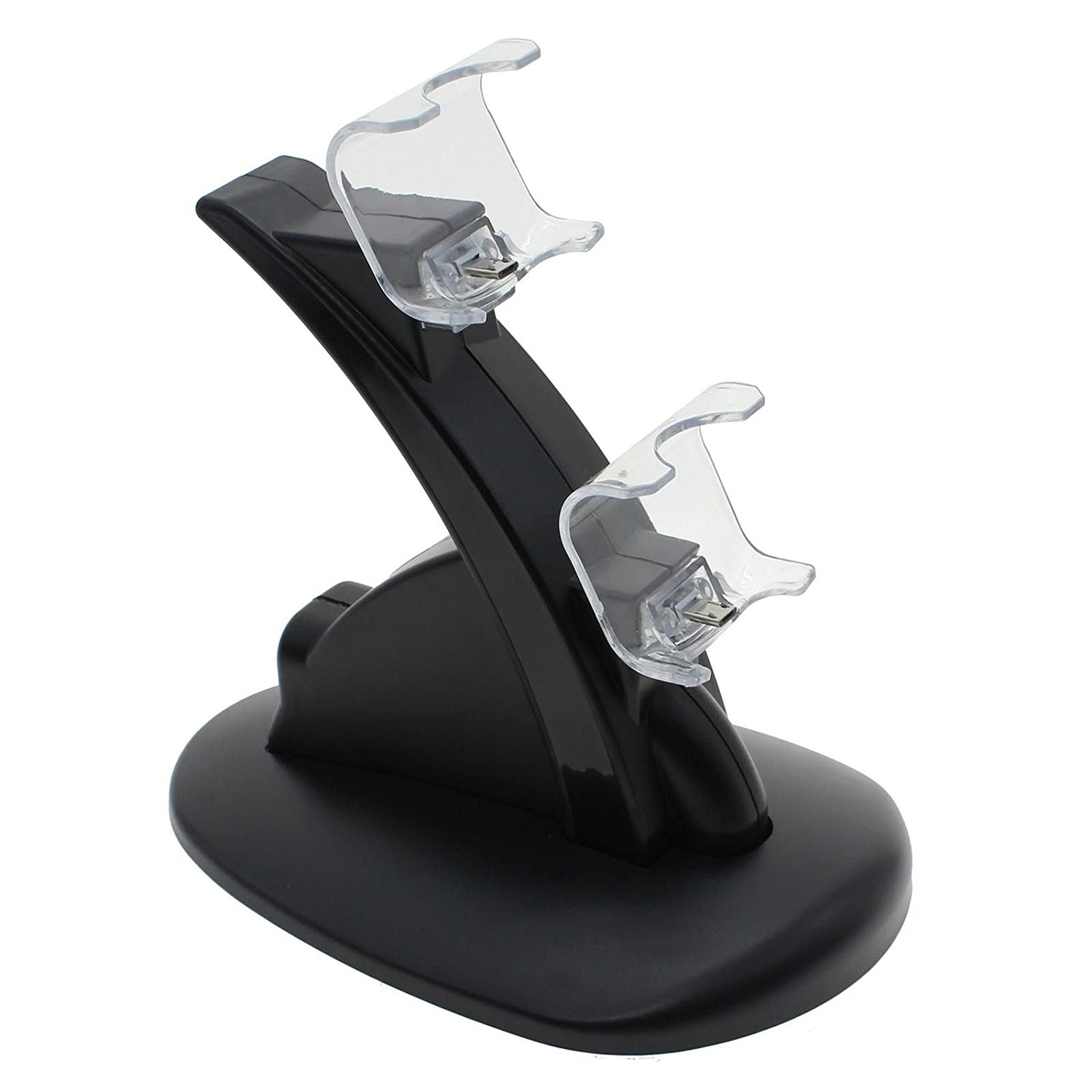 1Pc LED Dual USB Controller Charger Charging Stand Station Dock for PS4 Dualshock