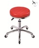 Round PU Leather Optional Colos Rubber Ring Bar Stool TF022-2