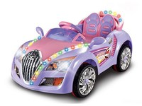 R/C & Foot-step Ride On Car with MP3 input, Music and Light Ride On Car with Radio Control