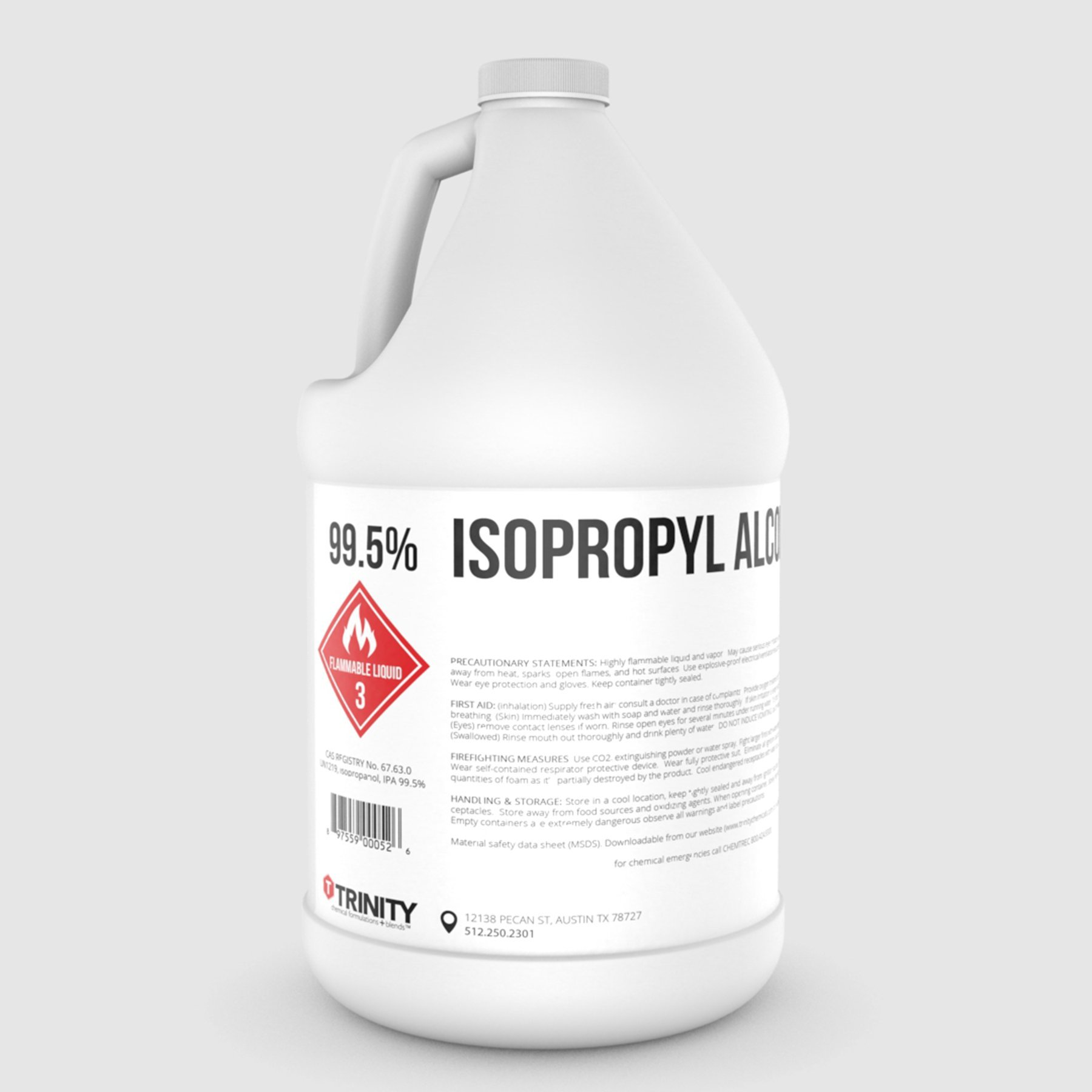 Get Quotations 995 Isopropyl Alcohol Isopropanol Clear Colorless Liquid Solvent 1