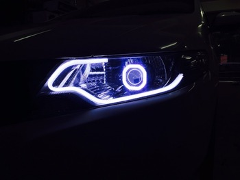 Flexible soft tube headlight car led strip drl led turn signal light flexible soft tube headlight car led strip drl led turn signal light aloadofball Images