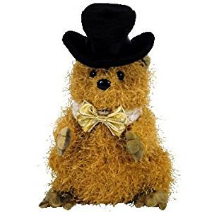 Get Quotations · TY Beanie Baby - PUNXSUTAWN-e PHIL 2005 the Groundhog  (Internet Exclusive) e1dcbffc66d9