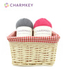Charmkey blended yarn made by high quality Wool and Nylon for Craft