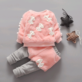 825fdcc2afd2 Best seller Baby clothing wholesale Children Kids Girl s fall winter clothing  sets Baby Clothes Set