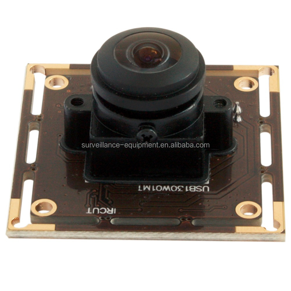 ELP 960P 0.01Lux low illumination USB 2.0 camera module 1.3mp fisheye Wide angle webcam