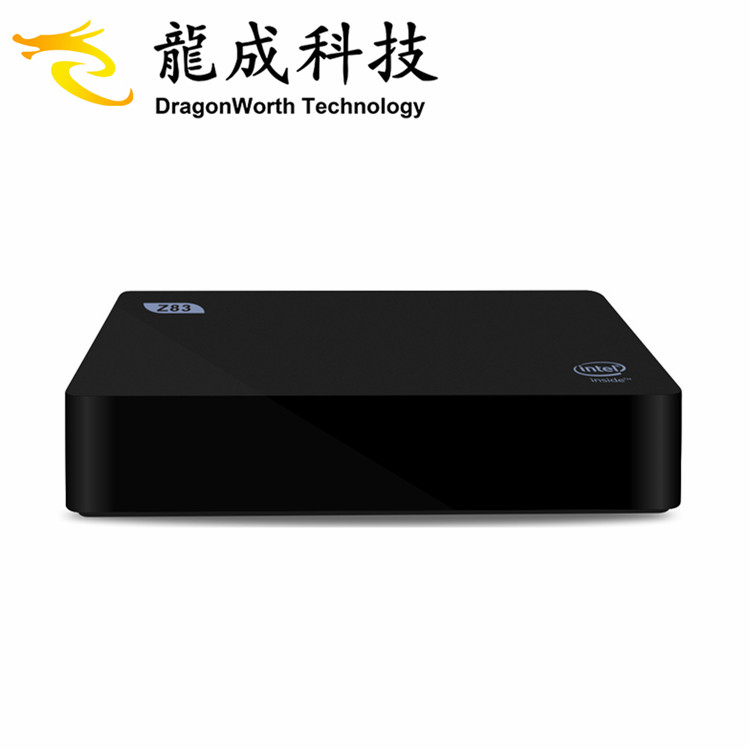 wifi tv win 10 system mini pc z83II z8350 2G 32G smart win tv <strong>box</strong> with <strong>satellite</strong> receiver black <strong>box</strong>