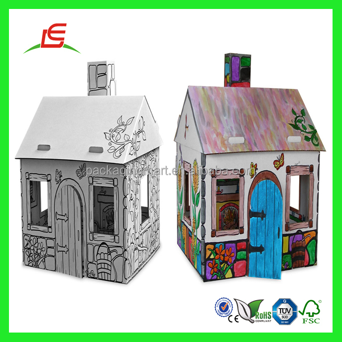 Q258 China Wholesale Cheap Lovely Mini Cardboard Toys Girls