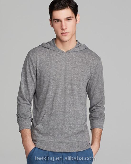 custom thin cotton pullover hoodie, View thin hoodie, Teeking ...