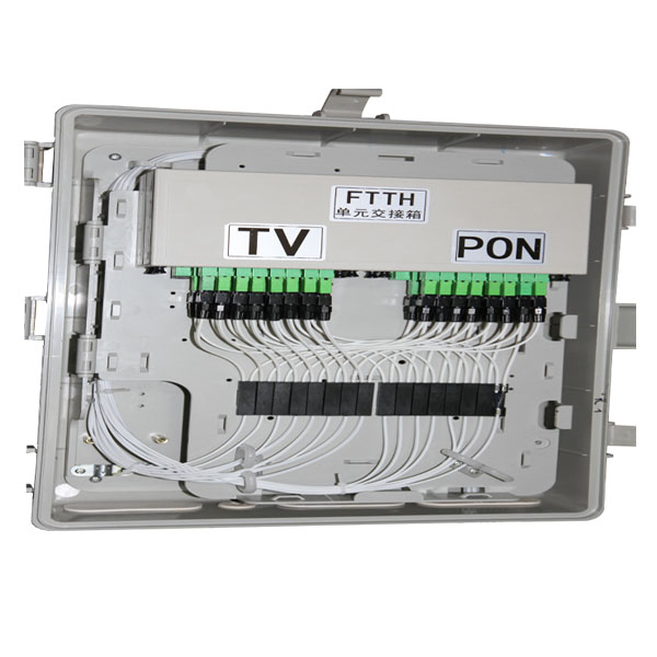 Optical Link Protection System_ outdoor fiber optic splice box